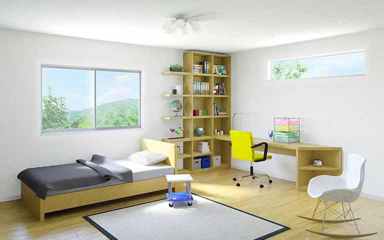 スペースを有効活用上手に子供部屋をレイアウトするコツ