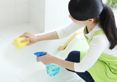 お風呂掃除で知っておきたい掃除の手順と汚れの落とし方